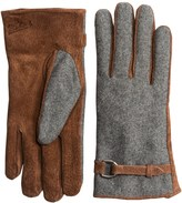 Woolrich Milltown Gloves - Suede, Fleece Lined (For Women)