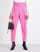 3.1 Phillip Lim Wide cropped high-rise gabardine trousers