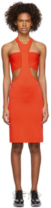 Rudi Gernreich Orange Cutaway Dress