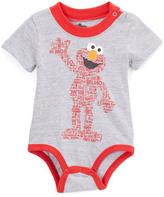 Children's Apparel Network Gray & Red Elmo Bodysuit - Infant