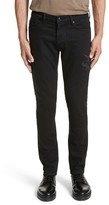 The Kooples Men's Embroidered Slim Fit Jeans