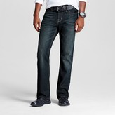 Mossimo Men's Bootcut Jeans Dark Vintage Wash