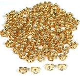 FindingKing 100 1/20 14k Gold Filled Earring Back Ear Nuts