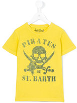 Mc2 Saint Barth Kids - pirates print Rock T-shirt - kids - Cotton - 4 yrs