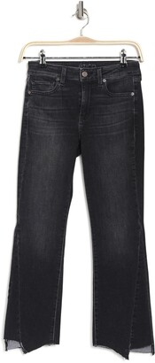 ÉTICA Micki High Waist Kick Flare Step Hem Jeans