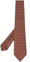 Kiton printed pattern tie