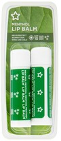 Superdrug Lip Balm Menthol Twinpack