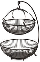 Mikasa Gourmet Basics Two Tiered Basket with Banana Hook
