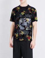 McQ by Alexander McQueen Floral-print cotton-voile t-shirt