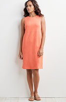 J. Jill Sleeveless Cotton Slub Dress