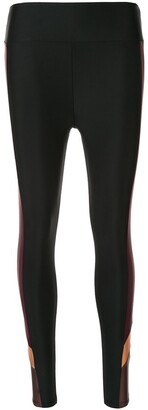 Lanston Sport side panelled performance leggings