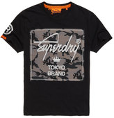 Superdry City Brand Camo T-shirt