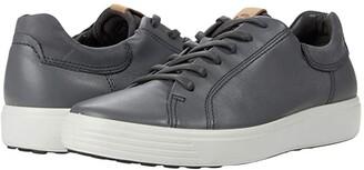 Ecco Soft 7 Street Sneaker (Moonless/Amber) Men's Shoes