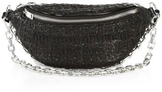 Alexander Wang Attica Hybrid Tweed Belt Bag