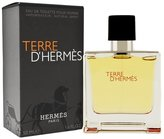 Hermes Men's Terre d' Eau de Toilette Natural Spray, 1.6-Fluid Ounce