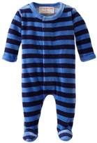 Magnificent Baby Baby-Boys Midnight Sky Velour Footie