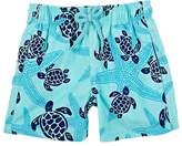 Vilebrequin Kids' Turtle-&-Starfish-Print Swim Trunks