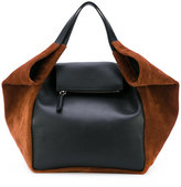 Givenchy trapeze tote bag - women - Calf Leather/Suede - One Size