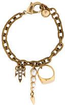 Lulu Frost Chain-Link Charm Bracelet