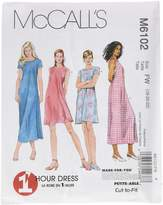 Mccall's M6102 Misses' Dress In 2 Lengths