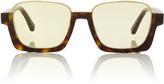 Marni Tortoishell Square Sunglasses