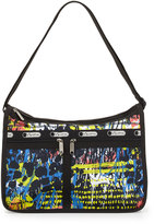Le Sport Sac Deluxe Everyday Printed Shoulder Bag, Blooming