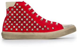 Saint Laurent Bedford studded sneakers