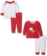 Mothercare Girl's Little Ladybird - 2 Pack Pyjama Sets