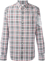 Moncler Gamme Bleu plaid shirt - men - Cotton - 2
