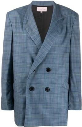 Natasha Zinko Oversized Double-Breasted Jacket