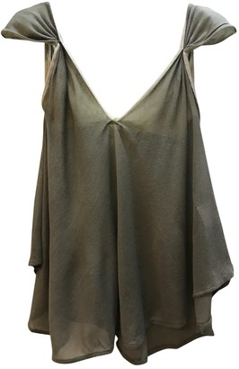 Stella McCartney Stella Mc Cartney Green Cotton Top for Women