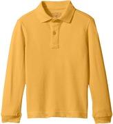 Nautica Husky Long Sleeve Pique Polo Boy's Long Sleeve Pullover