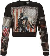 Fausto Puglisi Marvel Graphic Sweatshirt