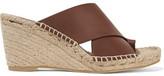 Vince Suraya Leather Espadrille Wedge Sandals