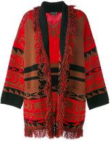 Etro - manteau bicolore