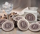 Thirstystone TSML 4 piece Coaster Set Monogram L