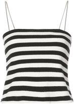 Amiri striped fitted top