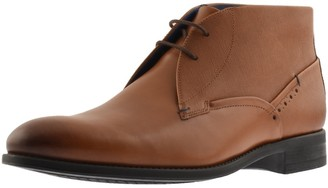 Ted Baker Chemna Leather Boots Brown