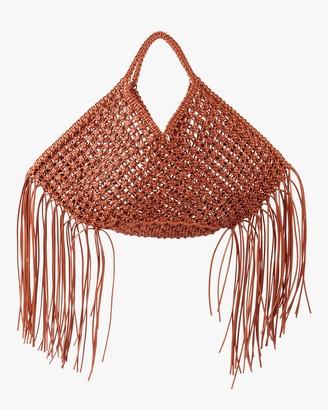 Yuzefi Large Woven Basket Handbag