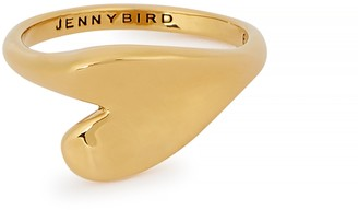 Jenny Bird Layla 14kt gold-dipped ring