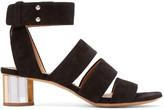 Proenza Schouler Black Suede Sandals
