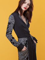 Diane von Furstenberg Cinch Waist Shirtdress