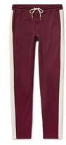 Moncler Slim-Fit Striped Jersey Sweatpants