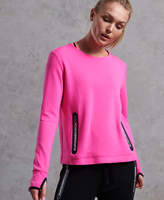 Superdry SD Sport Gym Tech Luxe Crew Jumper
