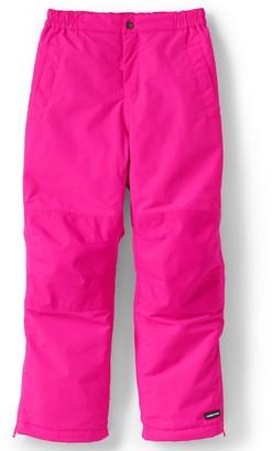 Lands' End Kids 7-20 Squall Waterproof Iron Knee Winter Snow Pants in Regular, Slim & Husky