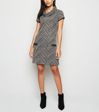 New Look Mela Cowl Neck Dress