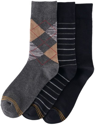 Gold Toe Boys GOLDTOE 3-Pack Argyle Socks