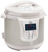 Elite Platinum Stainless Steel Electric Pressure Cooker 8 qt. - White