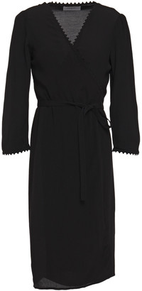 BA&SH Crepe De Chine Wrap Dress