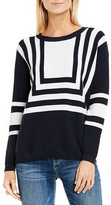 Two by VINCE CAMUTO Nautical Intarsia Stripe Sweater